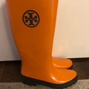 Tory Burch Rain boots - EUC